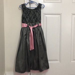 Girl's 7/8 holiday party dress